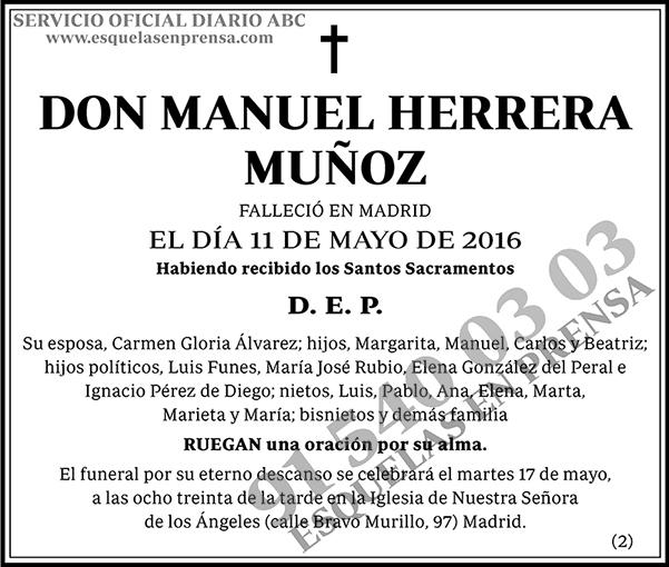 Manuel Herrera Muñoz